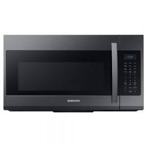 Samsung 30 in. 1.9 cu. ft. Over the Range Microwave in Fingerprint ResistantBlack Stainless Stee