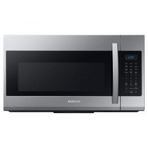 Samsung 30 in. 1.9 cu. ft. Over-the-Range Microwave in Fingerprint Resistant Stainless Steel ME19R7041FS