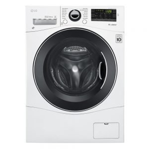 LG Electronics 2.3 cu. ft. High Efficiency Compact Front Load Washer in White, ENERGY STAR WM1388HW
