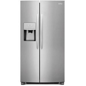 Frigidaire Gallery 25.5-cu ft Side-by-Side Refrigerator with Ice Maker (Smudge-Proof Stainless Steel) ENERGY STAR LGHX2636TFB