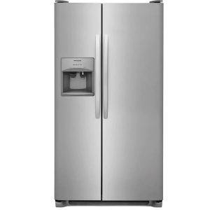 Frigidaire 22-cu ft Side-by-Side Refrigerator with Ice Maker