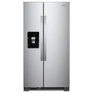 36-inch Wide Side-by-Side Refrigerator – 25 cu. ft. Model: WRS555SIHZ (New in box)