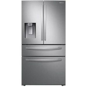 Samsung 28-cu ft 4-Door French Door Refrigerator with Ice Maker (Fingerprint-Resistant Stainless Steel)