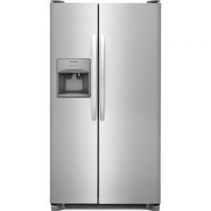 25.5 cu. ft. Side by Side Refrigerator in Stainless Steel25.5 cu. ft. Side by Side Refrigerator in Stainless Steel25.5 cu. ft. Side by Side Refrigerator in Stainless Steel