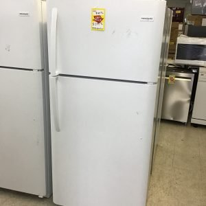 18 cu. ft. Top Freezer Refrigerator in White