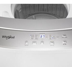 Model WET4024HW 1.6 cu.ft Electric Stacked Laundry Center 6 Wash cycles and AutoDry™