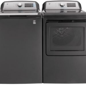 Model GTW840CPNDG – GE® 5.2 cu. ft. Capacity Smart Washer with Sanitize w/Oxi and SmartDispense