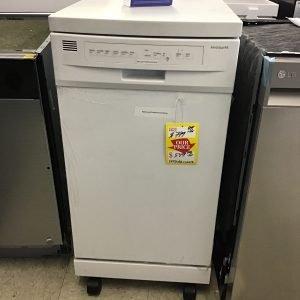 Frigidaire 52-Decibel Front Control 18-in Built-In Dishwasher (White) ENERGY STAR (ADA Compliant) FFPD1821WW1B