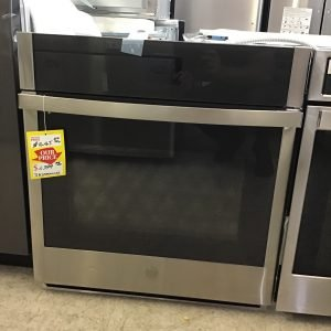 GE® 27″ Smart Built-In Convection Single Wall Oven  Model #:JKS5000SNSS