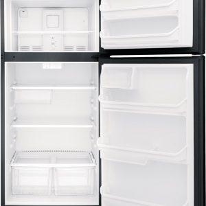 Frigidaire 18 Cu. Ft. Top Freezer Refrigerator. FFTR1821TB
