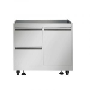 THOR Outdoor Kitchen BBQ Grill Cabinet in Stainless Steel.MK03SS304