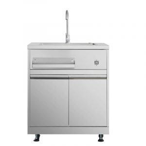 THOR Outdoor Kitchen Sink Cabinet in Stainless Steel. MK01SS304