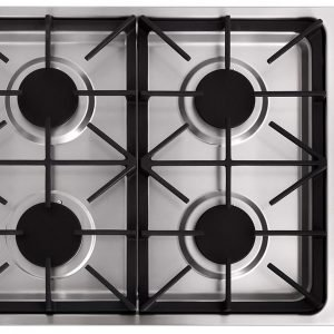 THOR 30Inch Professional Drop-In Gas Cooktop with Four Burners in Stainless Steel. TGC3001