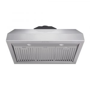 THOR 36 Inch Professional Range Hood, 16.5 Inches Tall in Stainless Steel. TRH3605