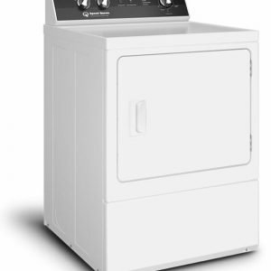Speed Queen – DR5 Sanitizing Electric Dryer with Steam – White